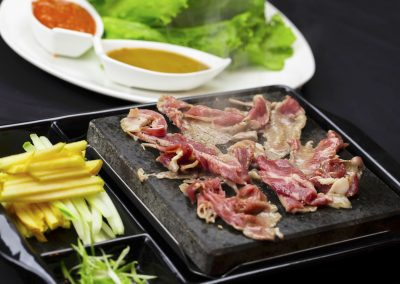 Kalbi Beef Wraps